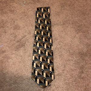 Brown Pattern Tie